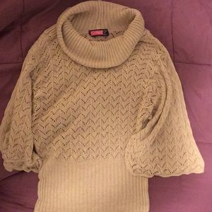 Tan ladies sweater super lightweight